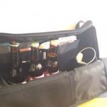 ひらくPCバッグの好きなとこ挙げてけ:ボトルビールがすっぽり入る