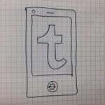 ぼくの考えたTumblr Phone(プロトタイプ) #TumblrPhone