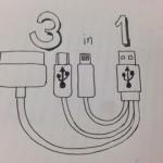 Amazonで買えるLightning/Dock/microUSBが一本にまとまった「3in1ケーブル」4選