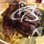 「神田ビアホール D's diner」牛ハラミステーキ丼ランチのコストパフォーマンスが高すぎる