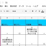 Googleスプレッドシート「ひろし比較表」更新(2013年6月版)