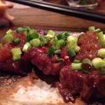 「塩田屋(新潟・古町)」美味いもつ焼きをクラフトビールと日本酒で味わう