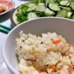 炊飯器で炊くだけ!エビピラフを手軽に美味しく作るレシピ