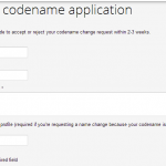 Ingressでcodename(アカウント)変更を申請する方法