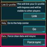 【Ingress】通信がうまくいかない時は強制同期(Force Sync)を試してみよう
