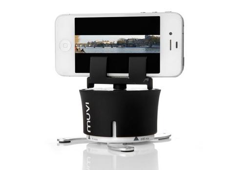 iPhone・スマホでも使えるタイムラプス(ハイパーラプス)撮影用回転カメラスタンドがちょう面白そう