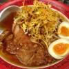「万世麺店(有楽町)」風邪も吹っ飛ぶ辛菜パーコーメン(排骨麺)