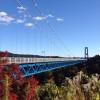「竜神大吊橋(茨城・常陸太田)」長さ本州一の歩行者専用橋はリアルでもIngressでも楽しめる観光スポットだった