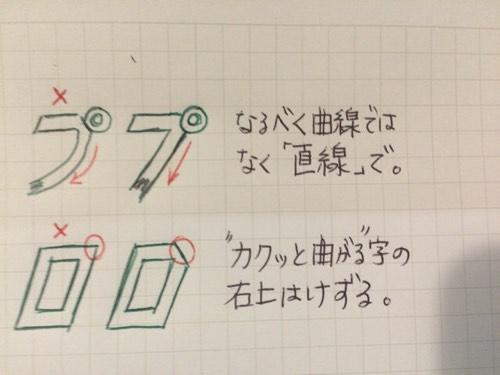 全日本プロレス中継風フォントを書く時のコツまとめ
