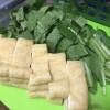 めちゃかんたん!小松菜と油揚げの炒め物