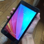 MediaPad T1 7.0(HUAWEI)でスクリーンショットを撮る方法 #ファーウェイ