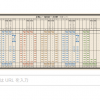 Googleロゴ「時刻表」に(10/15は時刻表記念日)