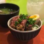 「食堂とだか(五反田)」名物牛ご飯は思わせぶりな口づけのごとし